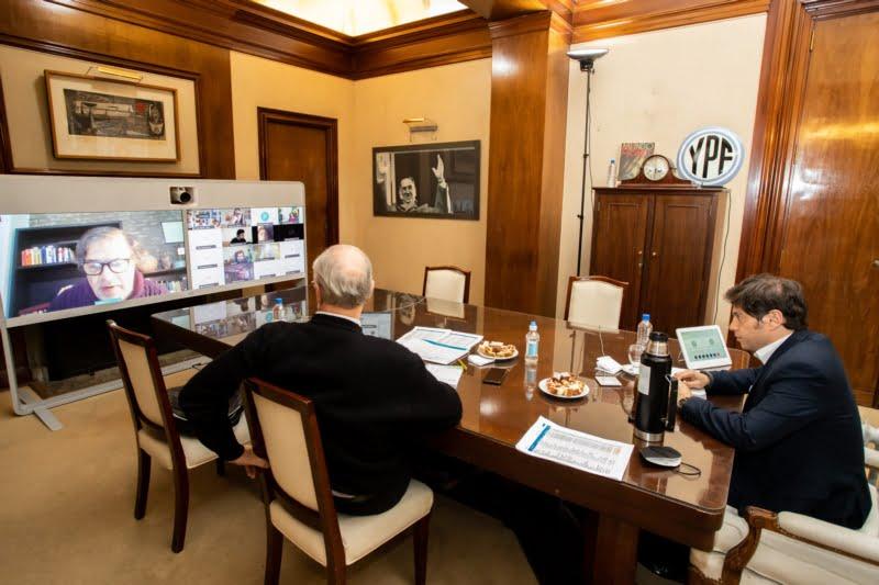 Kicillof encabezó un encuentro con el Comité de Expertos de la Provincia