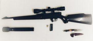 Chaves: Dos aprehendidos por el CPR por tenencia ilegal de arma de fuego