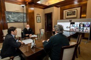 El Gobernador encabezó una mesa de trabajo con el agro para la prevención del delito rural