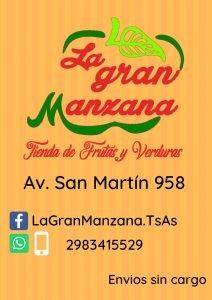 """""""La Gran Manzana"""" se muda al local de San Martín 958"""