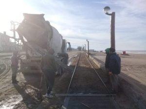 Destacan el desarrollo de las obras en marcha en Claromecó