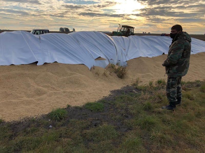 El CPR Chaves investiga el ataque: 40 toneladas de cereal fueron afectadas