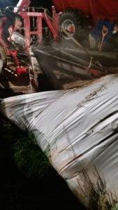 Productor de Gonzales Chaves fue víctima de un ataque silo bolsa