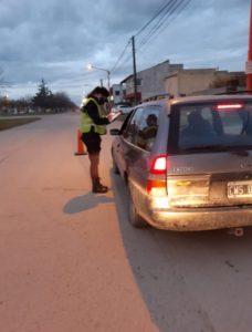 Dos autos secuestrados en controles