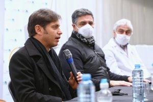 """Kicillof entregó respiradores para Vicente López: """"Trabajamos en unidad para cuidar la salud"""""""