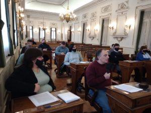 Concejo: con el voto del MV y Juntos por el Cambio se aprobó la designación de Lamberti