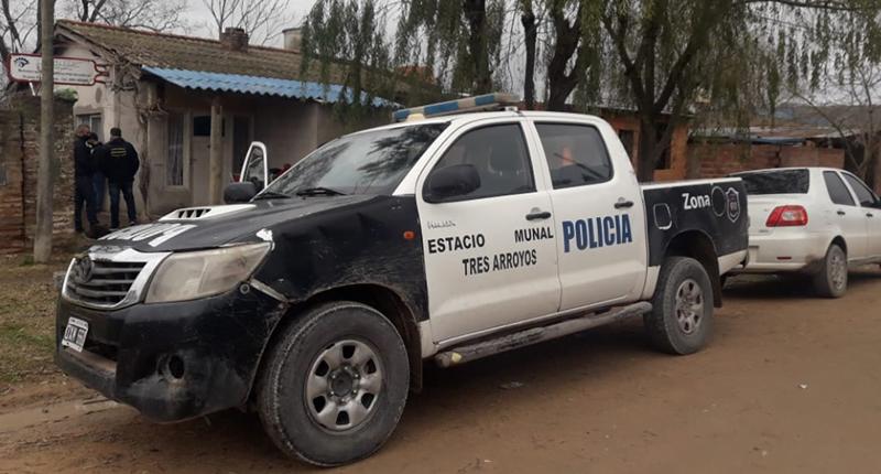 Allanamiento: recuperan lajas que habían sido robadas de un local comercial