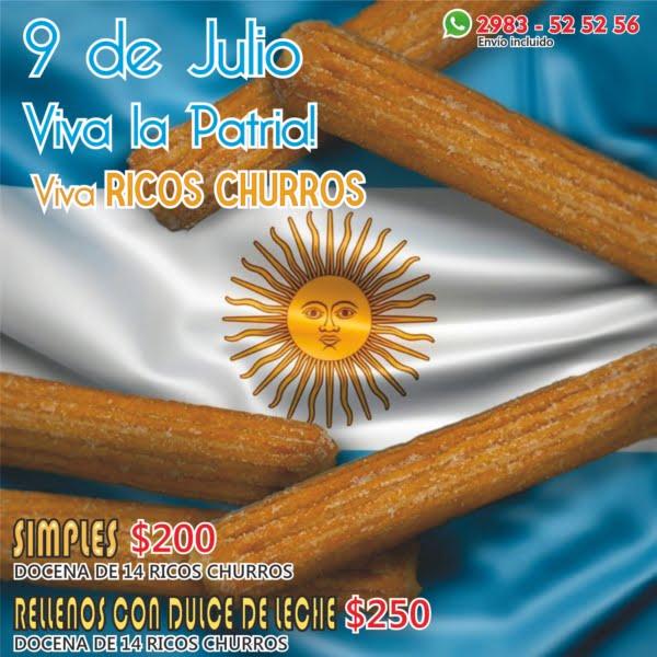 8 y 9 de julio día de Sabores Patrios en Sports Club