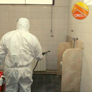 Desinfección preventiva en instalaciones de CRESTA