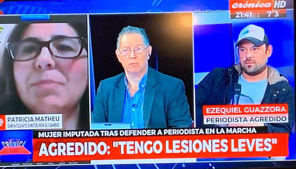 """Ezequiel Guazzora en Crónica TV: """"tengo lesiones leves"""""""