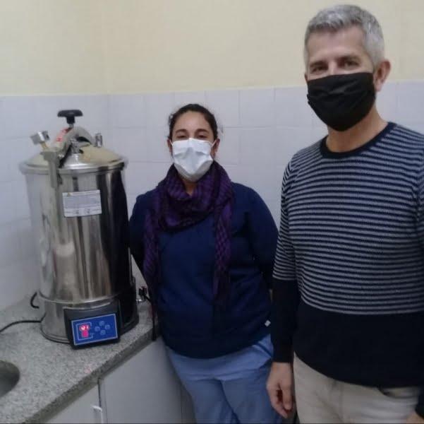 De la Garma: más equipamiento para la Unidad Sanitaria