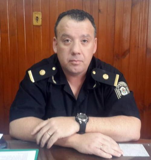 Baumgartner ya es jefe de turno de la Coordinadora de Seguridad Rural