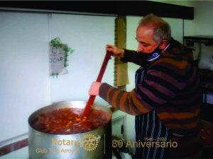 Rotary Club Tres Arroyos realizó exitoso guiso de lentejas a beneficio