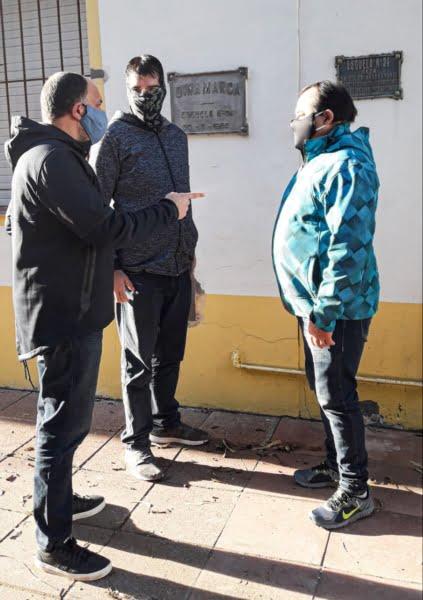 Referentes del Frente de Todos visitaron Reta