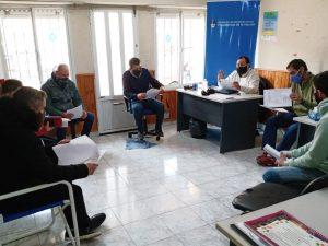 Reunión con emprendedores de la economía social local