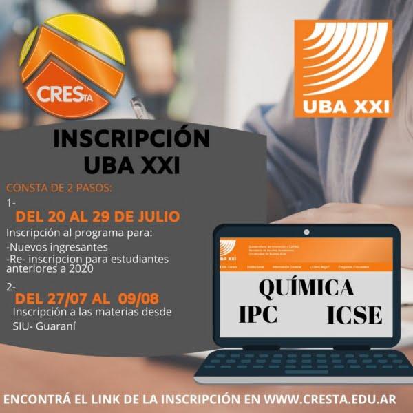 Reabre la inscripción para materias del Programa UBA XXI