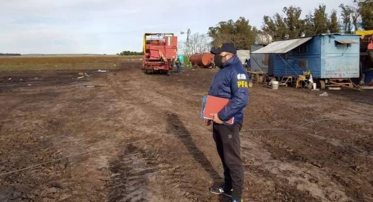 """Bibel se refirió a los trabajadores rescatados en Lobería: """"es un hecho muy grave"""""""