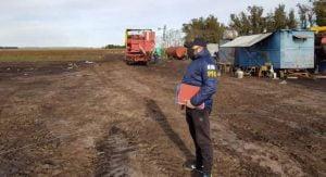 En un campo de Lobería rescatan a 21 hombres que eran explotados laboralmente