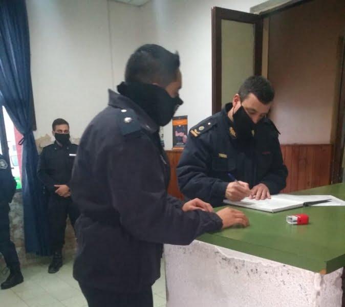 Gonzalo Milesi es el nuevo jefe policial de De la Garma
