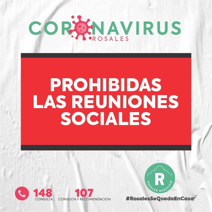 COVID-19 en C. Rosales: otros 2 fallecidos y advierten que últimos casos fueron por reuniones