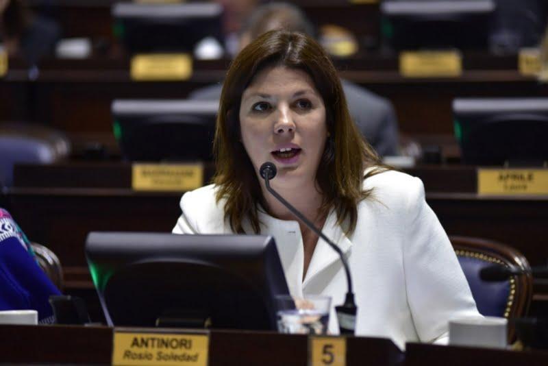 Antinori resaltó las iniciativas aprobadas por diputados