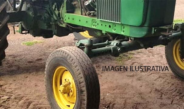 Un herido grave al ser pisado por un tractor