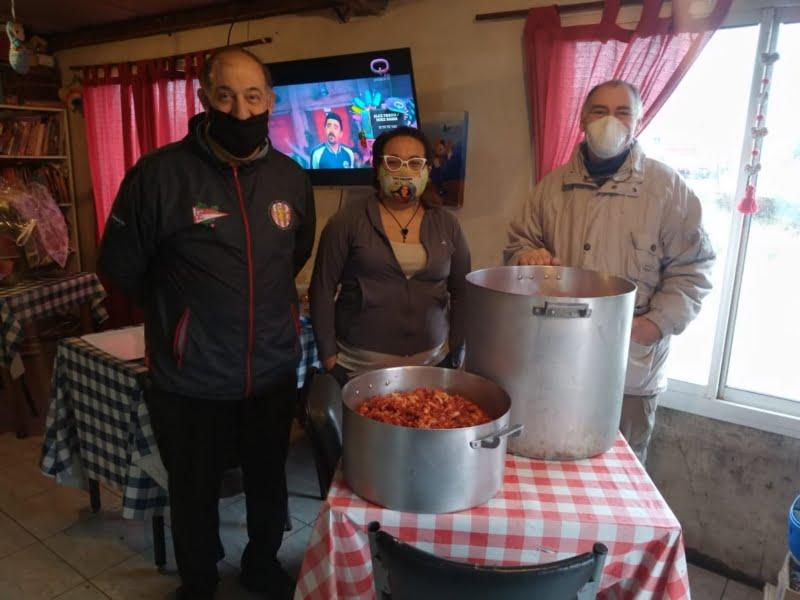 "Séptimo plato solidario de la filial ""La Bruja"""