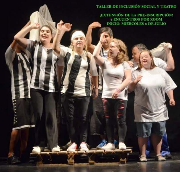 Realizan taller de inclusión social y teatro vía Zoom