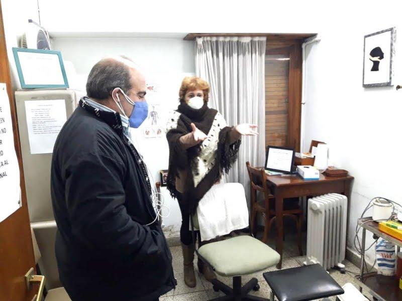 Rehabilitaron los sectores de podología y enfermería del Centro de Jubilados y Pensionados