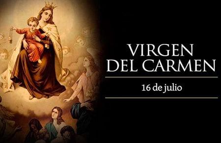 Procesión en automóviles y oficios por radio y redes: así serán las Fiestas Patronales de la Virgen del Carmen