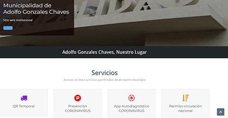 Los QR en la web del municipio de Gonzales Chaves