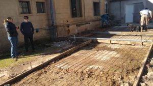 Comenzaron las obras para la nueva farmacia del Hospital Pirovano