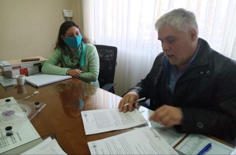 Santillán formalizó el convenio para la donación de plasma