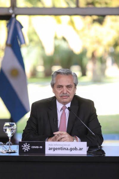Coronavirus: el Presidente anunció una apertura escalonada de actividades