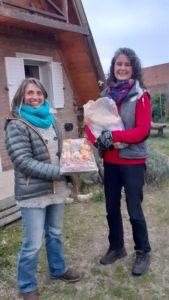 Ganadoras de las tablas de picadas sorteadas por el Instituto Secundario Claromecó