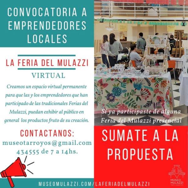 """Lanzaron """"La Feria del Mulazzi"""" en formato virtual"""
