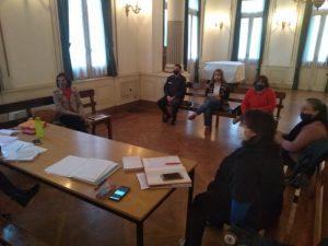 Se reunieron integrantes de la Mesa Intersectorial de Mujeres