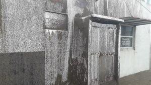 El desafío de sobrellevar la cuarentena en medio del temporal en Reta