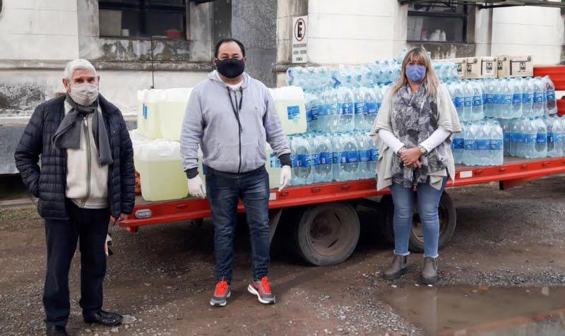 Importante donación del CDR a la Comisión Amigos del Hospital Pirovano