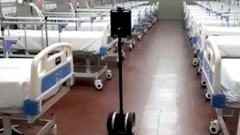 """Corrientes: Incorporan un """"robot enfermero"""" a su Hospital de Campaña (video)"""