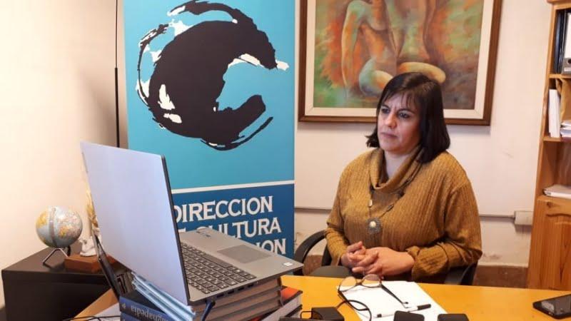 Rivas destacó la labor del área a través de las redes y anticipó que evalúan concretar la Feria de Artesanos de manera virtual