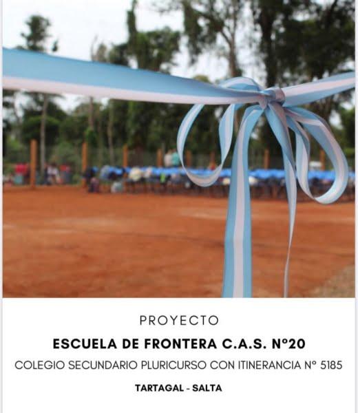 El CAS tiene a la venta bono para colaborar con construcción de Escuelas de Frontera