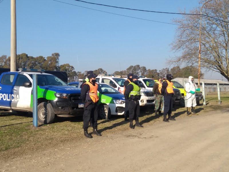 Megaoperativo policial en De la Garma: no hubo secuestros ni infracciones