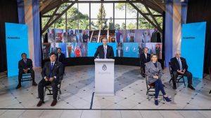 9 de Julio: Fernández destacó la unidad con gobernadores para enfrentar la pandemia