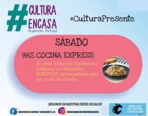 Agenda Cultural Virtual del sábado 18 de julio