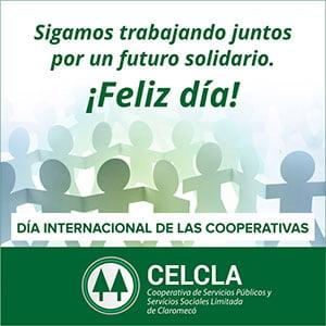 Salutación por el Día Internacional de las Cooperativas