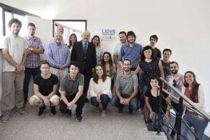 Lucas Alberca en un consorcio internacional para desarrollar drogas contra el Covid- 19