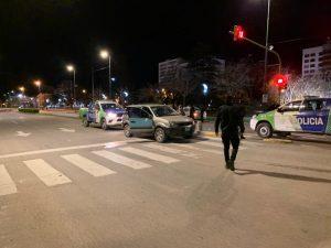 Interceptaron vehículo sospechoso. Test de alcoholemia positivo