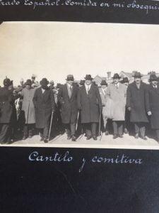 Fotos históricas: el gobernador Cantilo en la inauguración del Hospital Pirovano