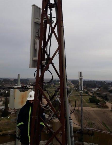 CELTAtv amplió la infraestructura de su servicio de Internet en Cascallares